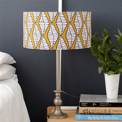 Fabric Print Lampshade