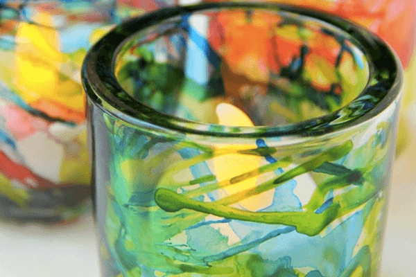 Colored Jar