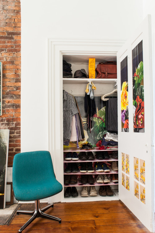 closet shoe storage ideas