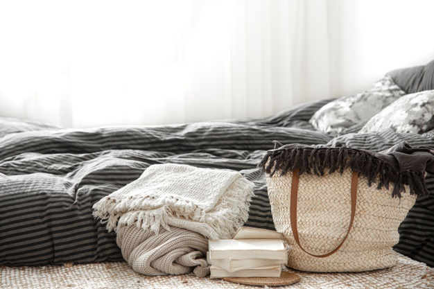 Use a Larger Bedding