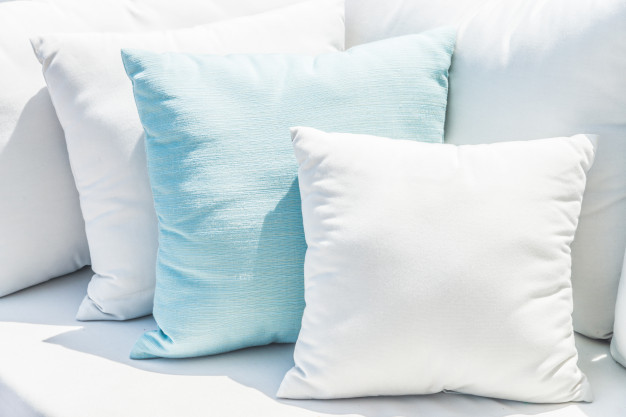 Add Colorful Throw Pillows