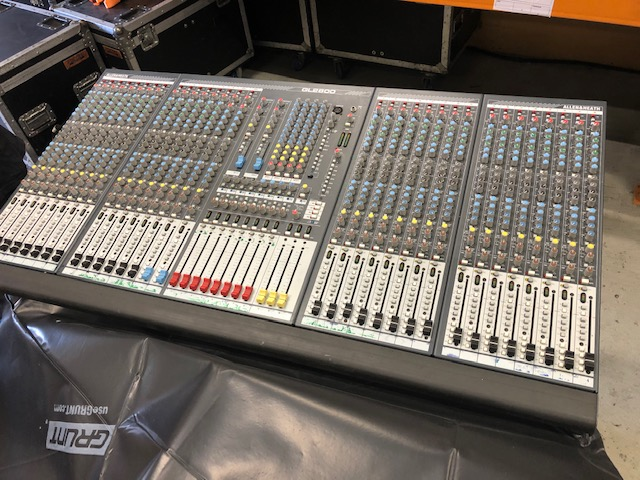A&H GL2800 32 channel console