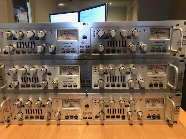 DBX 566 Stereo Compressor