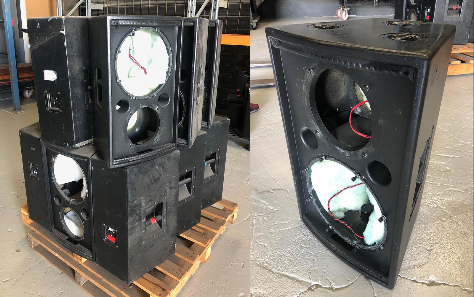 GT 1200 Speaker Cabinets