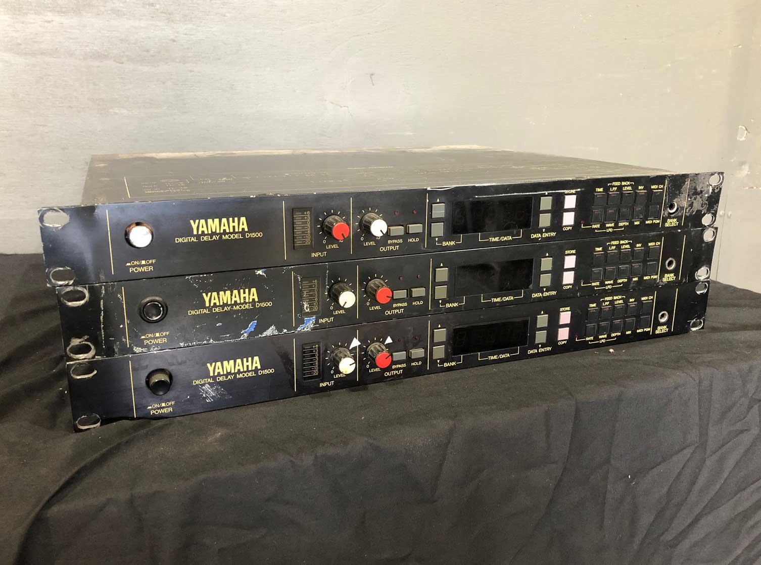 Yamaha D1500 Delay