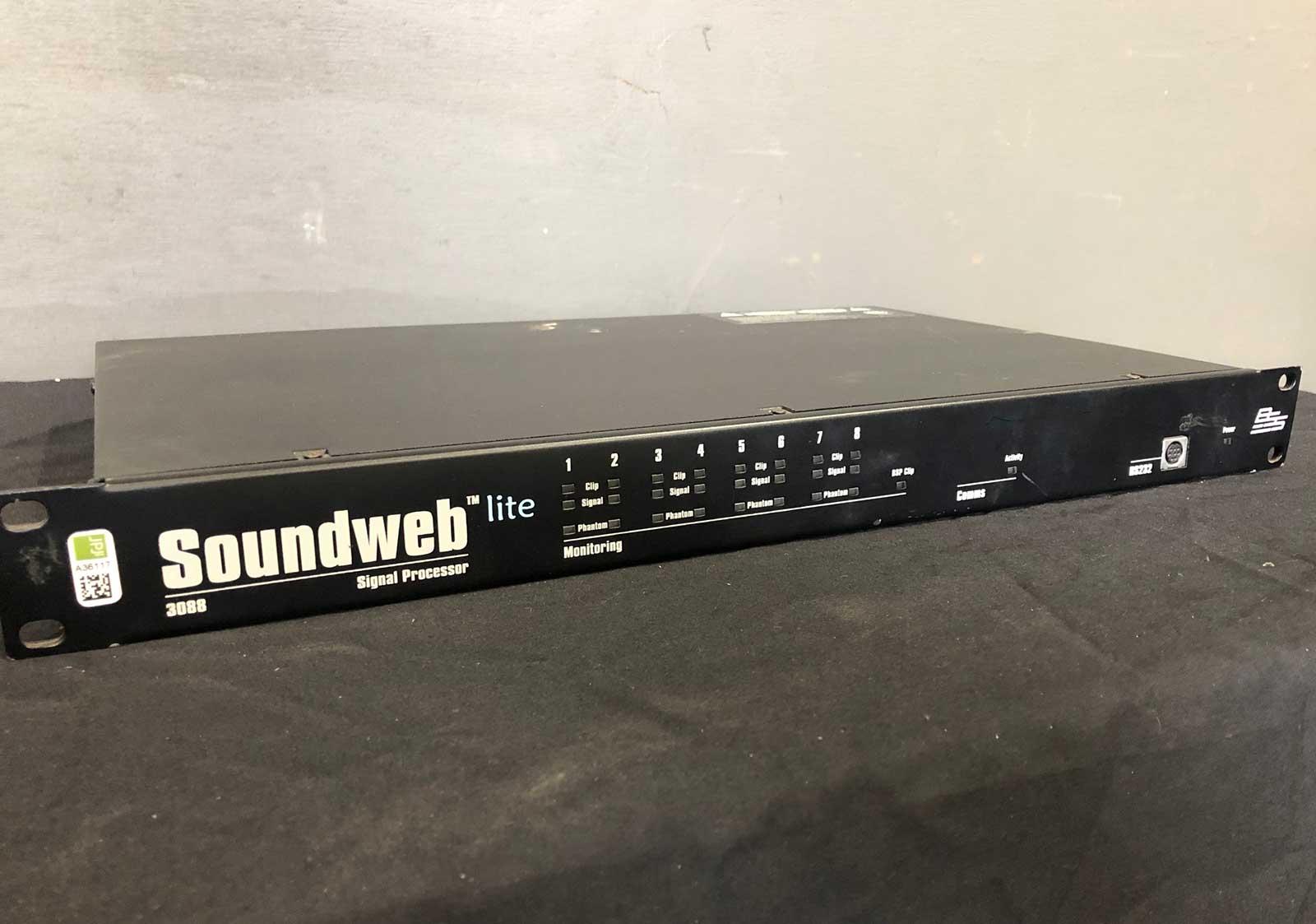 Soundweb Lite 3088 signal processor