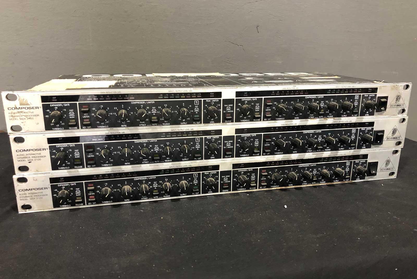 Behringer Composer Dual Compressor Gate