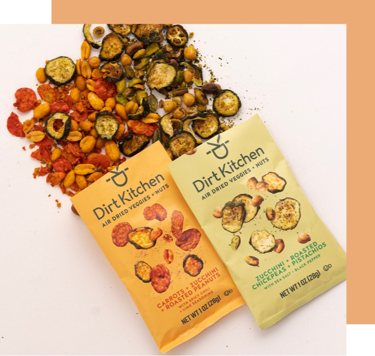 Click here to navigate to our Air Dried Veggie + Nut range of snacks.