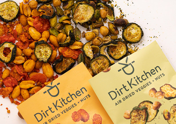 Click here to go to see Air Dried Veggies + Nuts products.