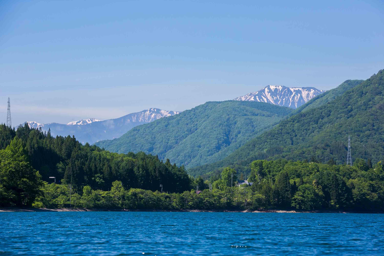 白馬にある青木湖