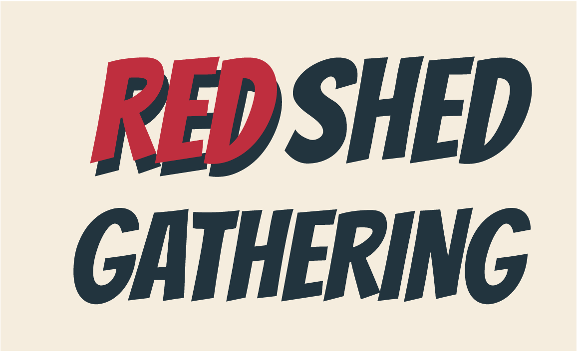 Red Shed Gathering - third logo