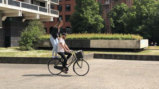 Scott Ruigrok is biking