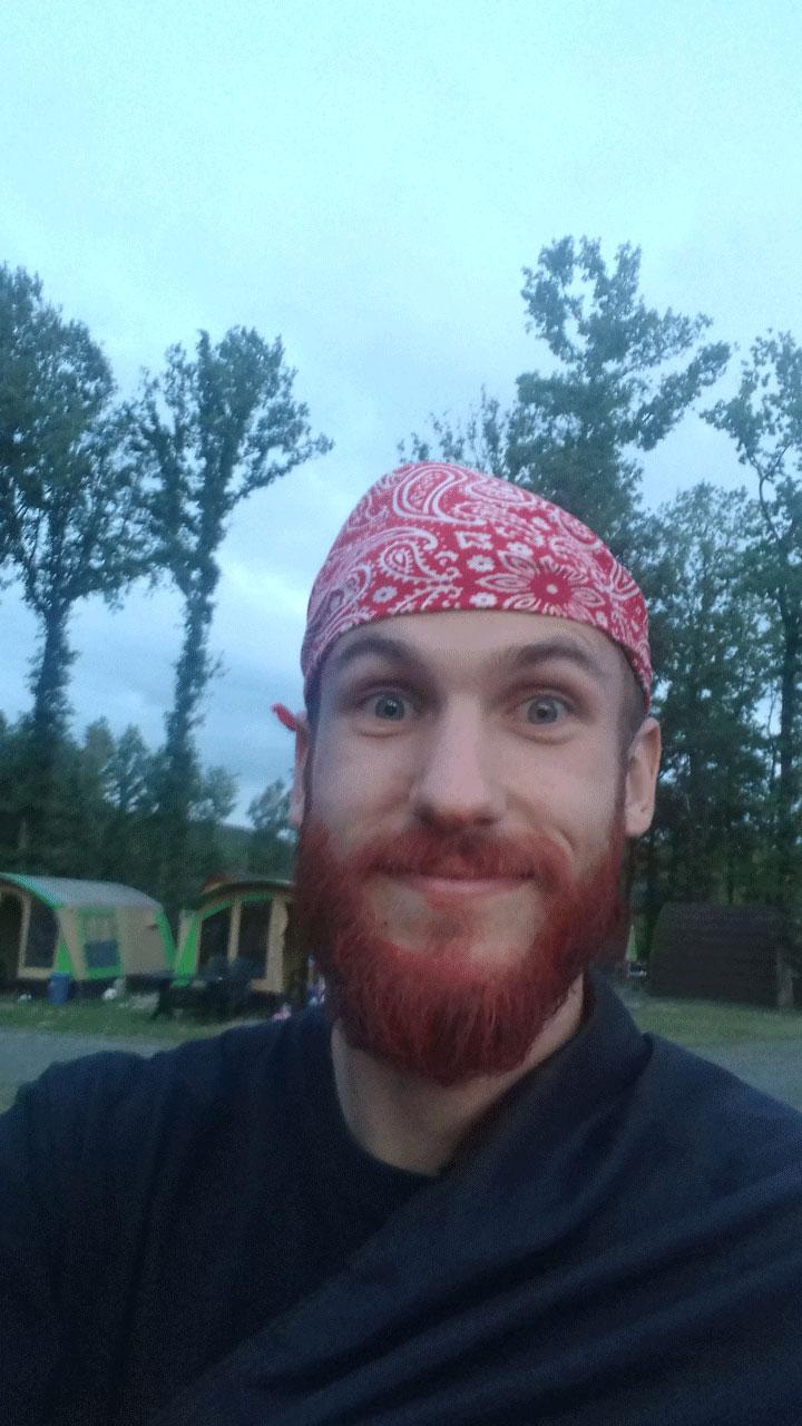 Scott Ruigrok is acting as Captain Redbeard