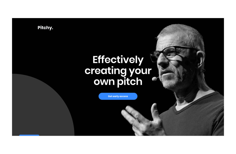 Pitchy - homepage