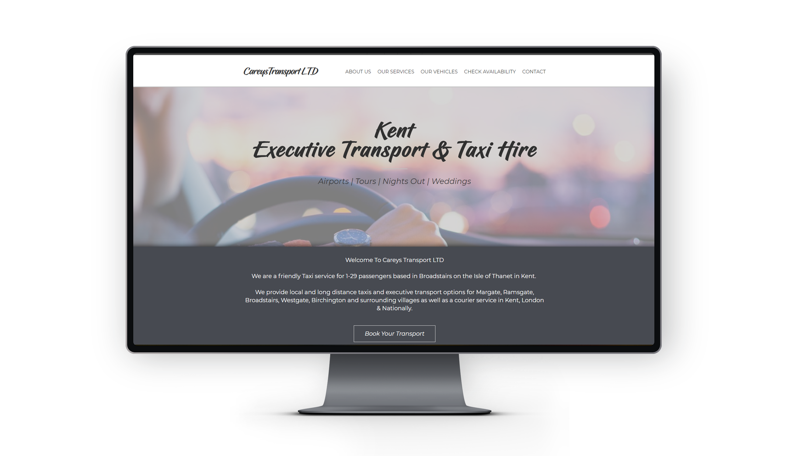 taxi company website kent thanet