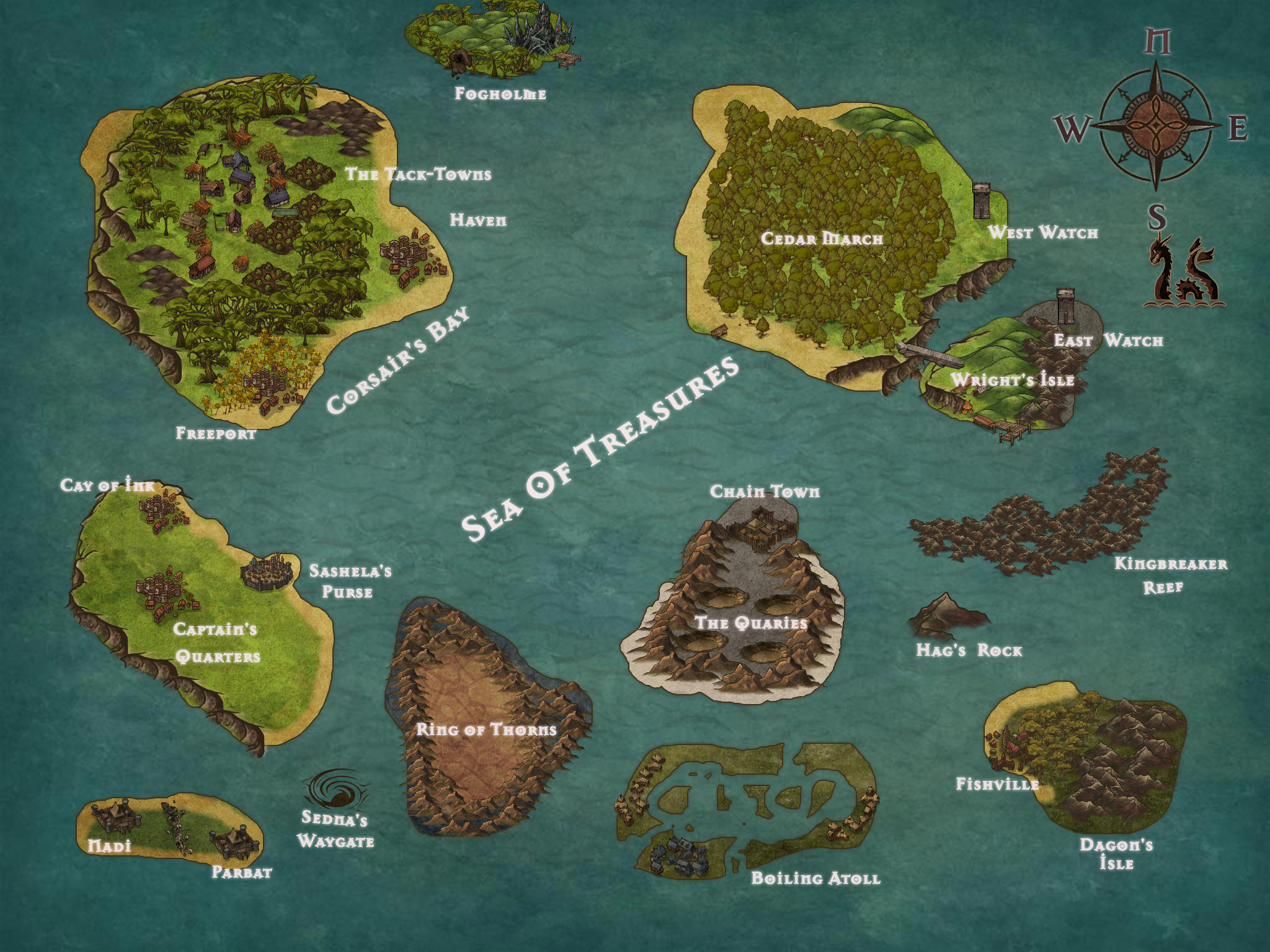 The Pirate Isles