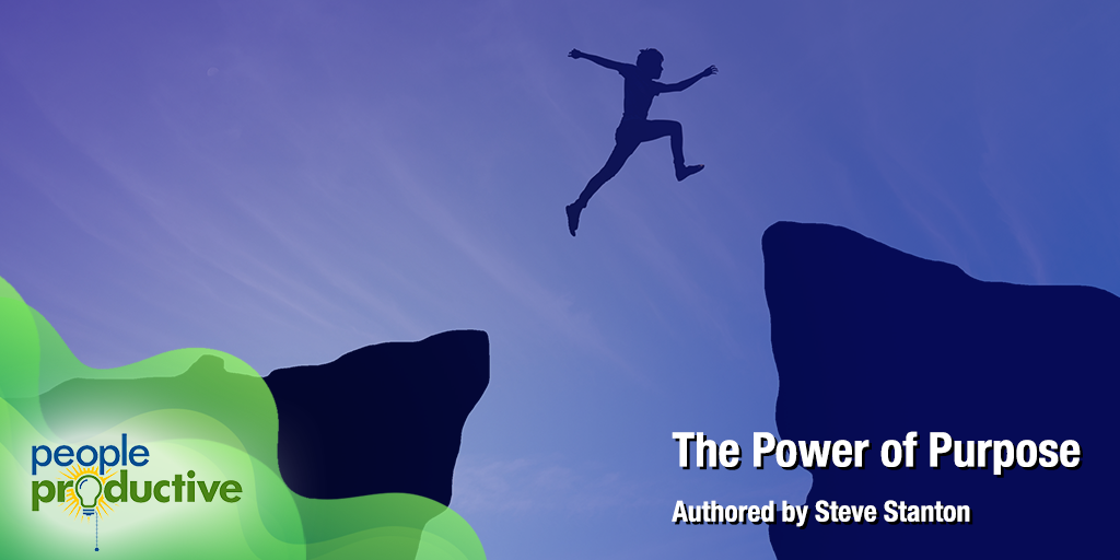 """The Power of Purpose"" -  Enjoy your reading!"