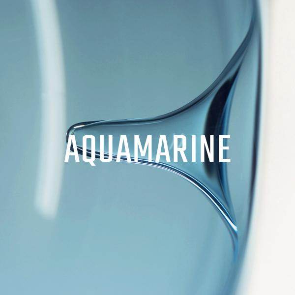 KEEP Poke Pendant Lighting Aquamarine