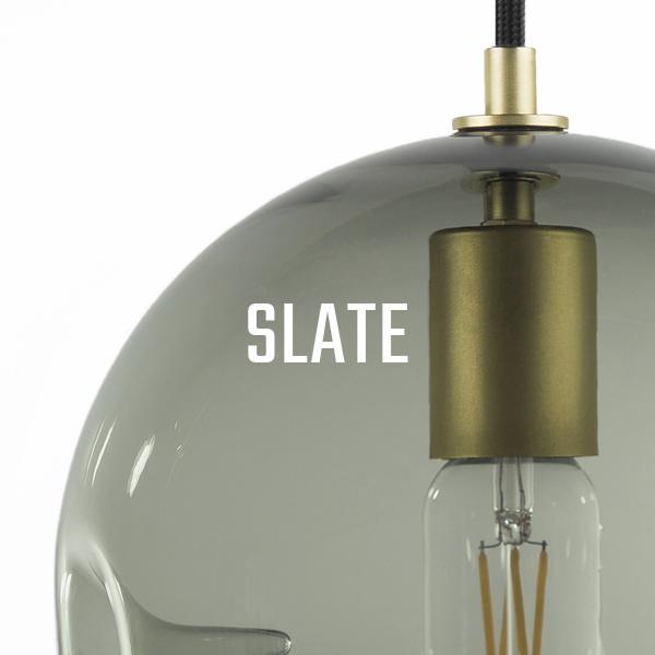 KEEP Poke Pendant Lighting Slate