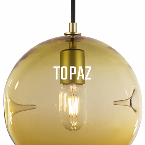 KEEP Poke Pendant Lighting Topaz