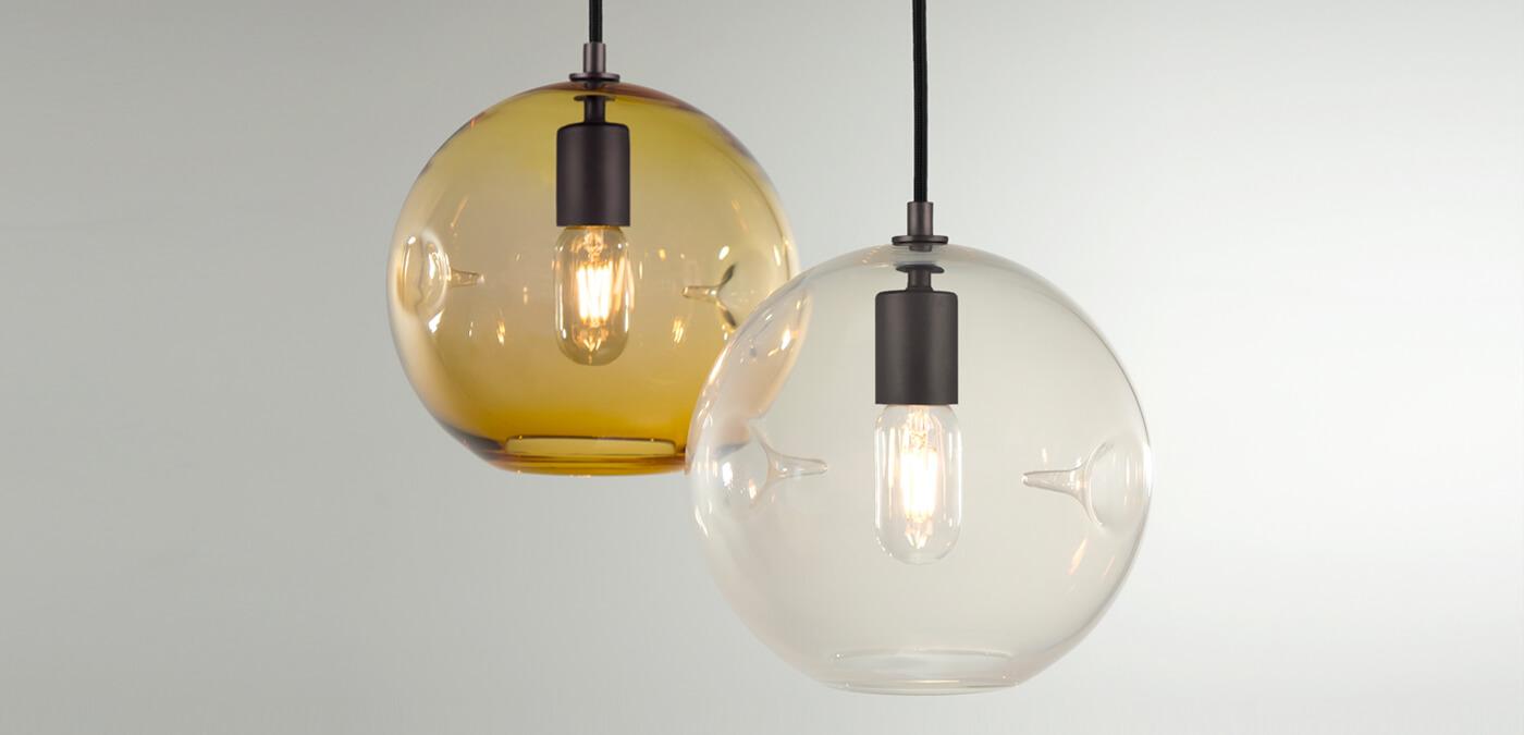 KEEP - POKE Pendant Topaz & Opal Glass Lighting