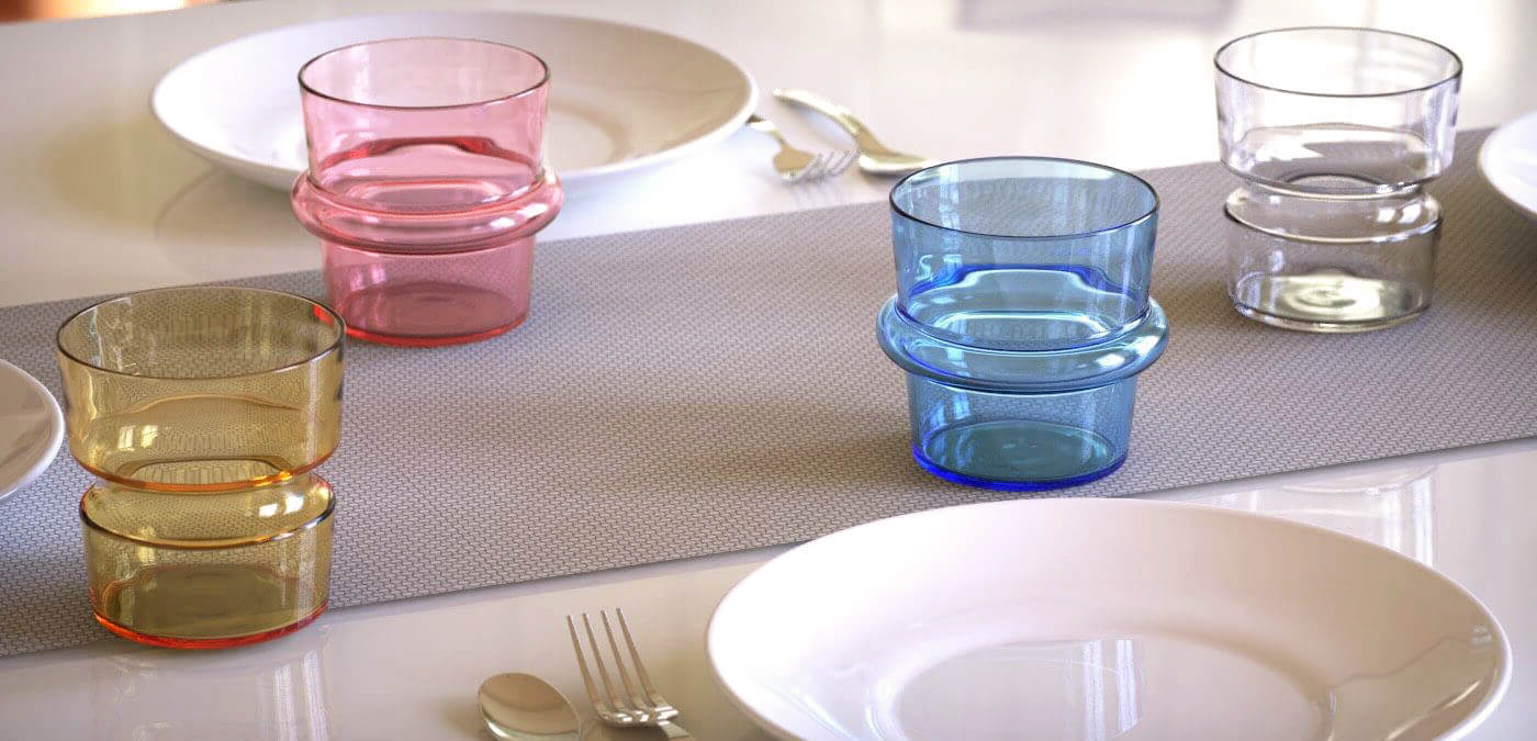 KEEP + Rydstedt - Cupples Handblown Glassware