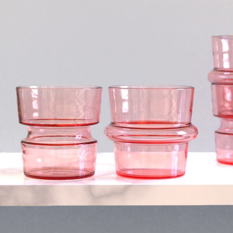 KEEP + Rydstedt Blush Cupple Hand Blown Glassware