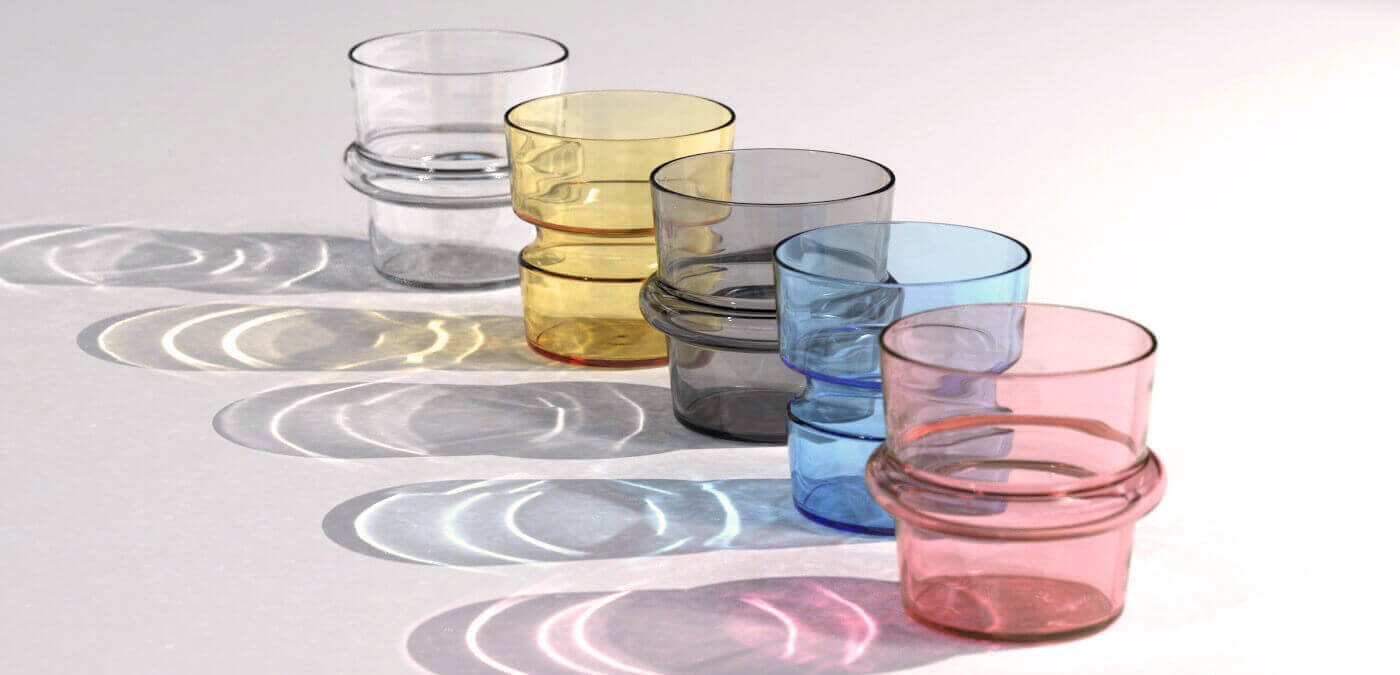 KEEP + Rydstedt - Cupples Colorful Handblown Glassware