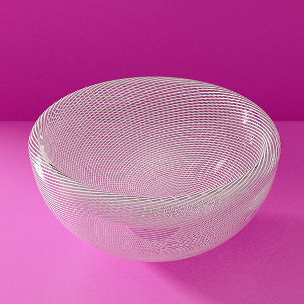 KEEP Zephyr Bowl Pearl Track Pattern Detail