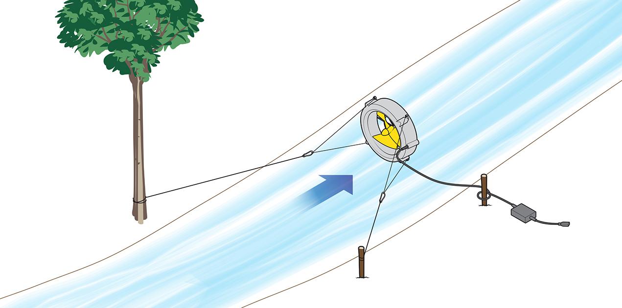 WaterLily Setup Series #3 - Using the Lanyards
