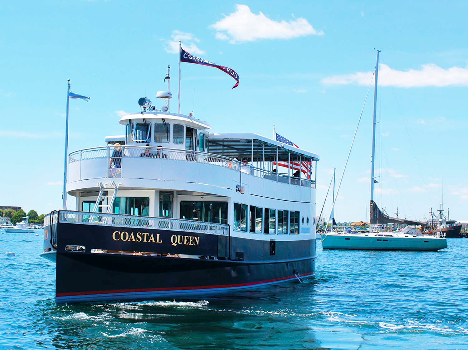 Coastal Queen Cruises - Scenic Bay Cruises - Jamestown Newport Ferry