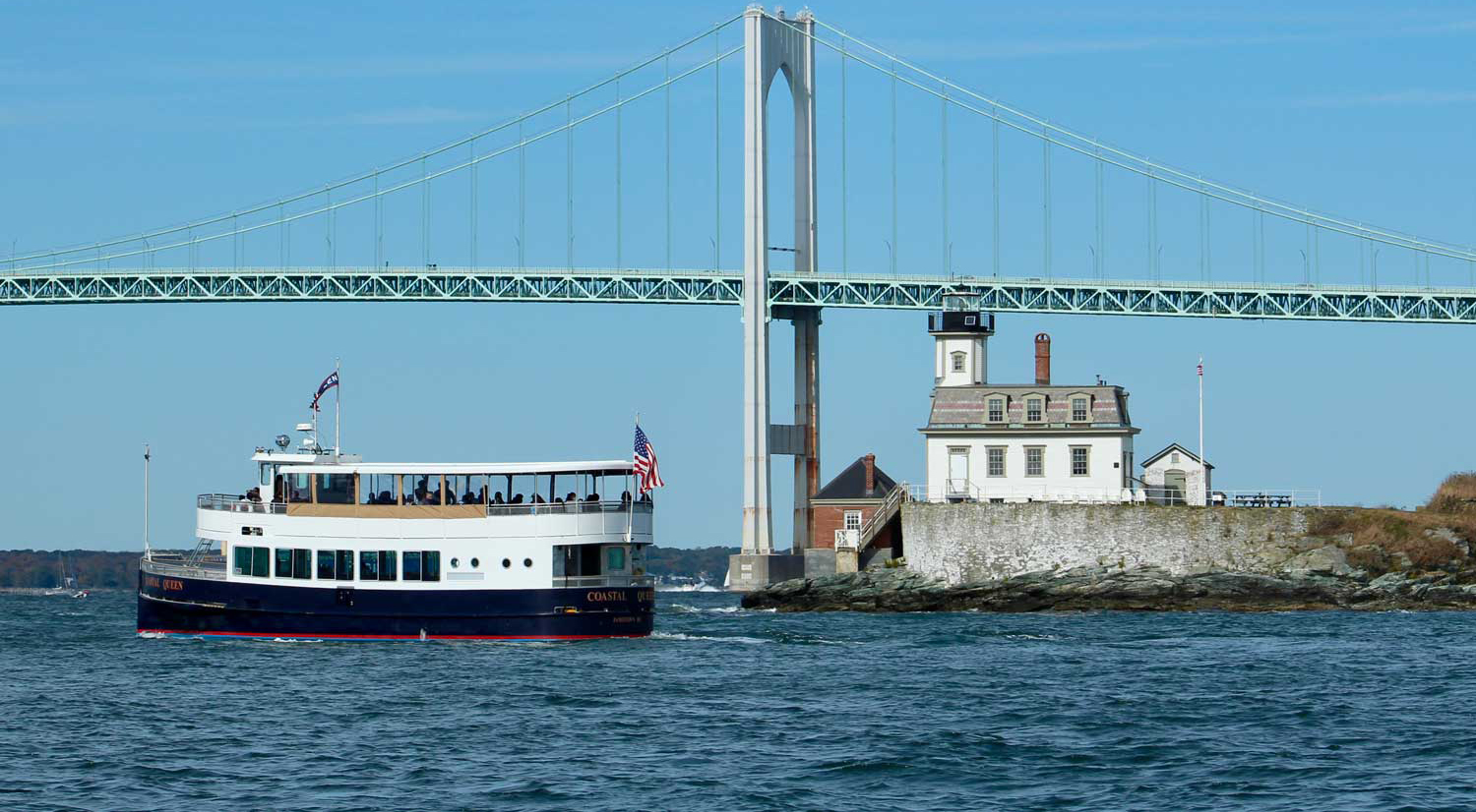 Coastal Queen Cruises from Bowens Wharf - Jamestown Newport Ferry