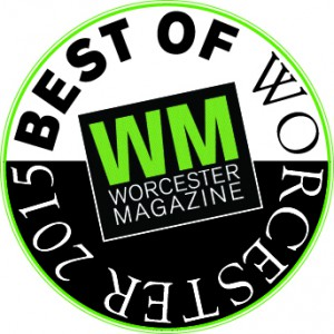 Best of Worester 2015 Award Badge