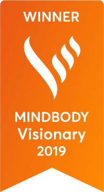 2019 MINDBODY Visionary Award Winner Badge