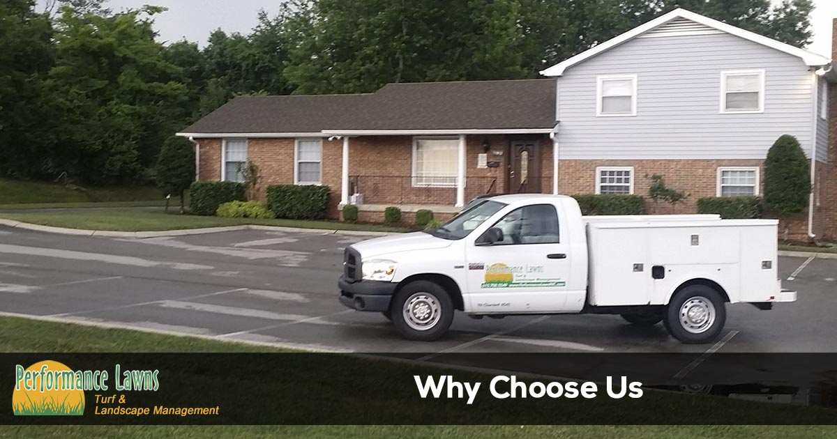 Choose Performance Lawns for all of the lawn maintenance services you need.