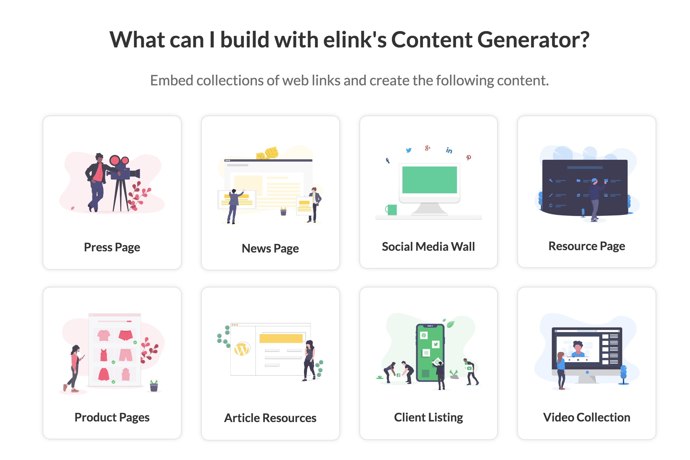 Fastest Content Generator on the Planet | Elink io
