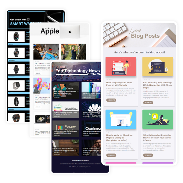 elink template examples