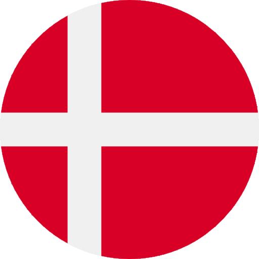 Danish language available