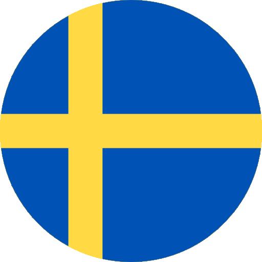 Swedish language available