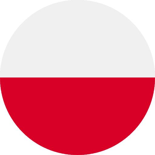 Polish language available