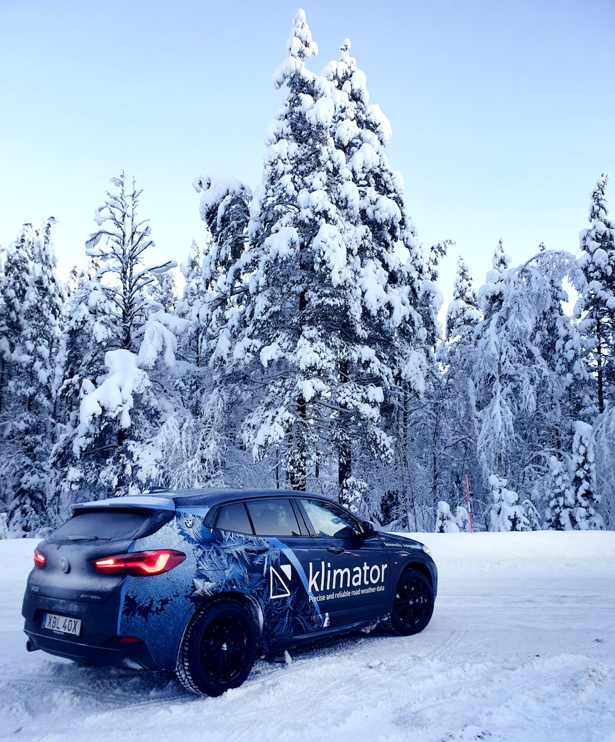 Demo car testing in perfect conditions!