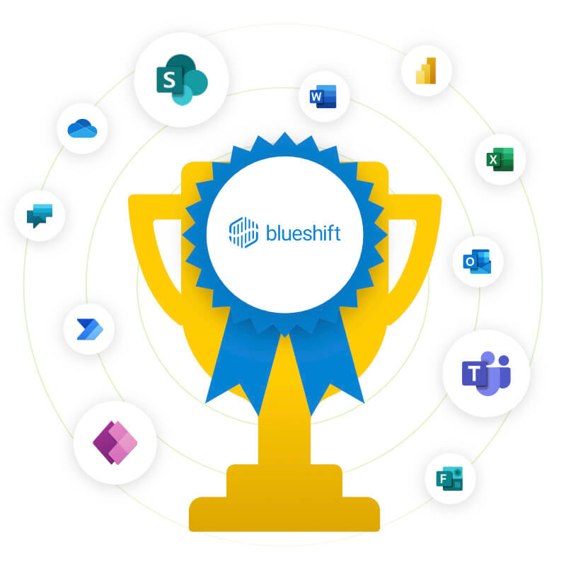 Image of the winner of the Blueshift Connects contest.
