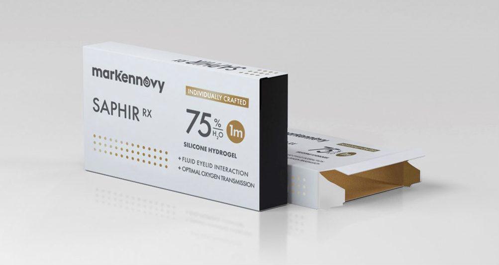 [[pt]]Saphir RX é uma gama de lentes de contacto descartáveis, desenhadas à medida exacta de cada olho. Fabricadas com o material mais avançado do mercado, o silicone de hidrogel, maximiza todo o Oxigénio que os nossos olhos necessitam. Ideal para usuários mais exigentes, onde a comodidade e a qualidade da visão são uma experiência única.
