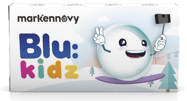 [[pt]][[pt]]Blu:Kids é uma lente em silicone de hidrogel, combinando um filtro UV de Classe I com filtro seletivo de bloqueio de luz azul para proteger o olho de mais de 99% de UVB, 93% de UVA e 14% de luz prejudicial azul-violeta. O seu alto teor de água, material de baixa desidratação e o menor módulo de todos os hidrogéis de silicone no mercado (0,25Mpa) oferece aos usuários uma experiência de uso saudável e confortável durante todo o dia. A gama apropriada a crianças favorece a adaptação também em olhos mais pequenos.
