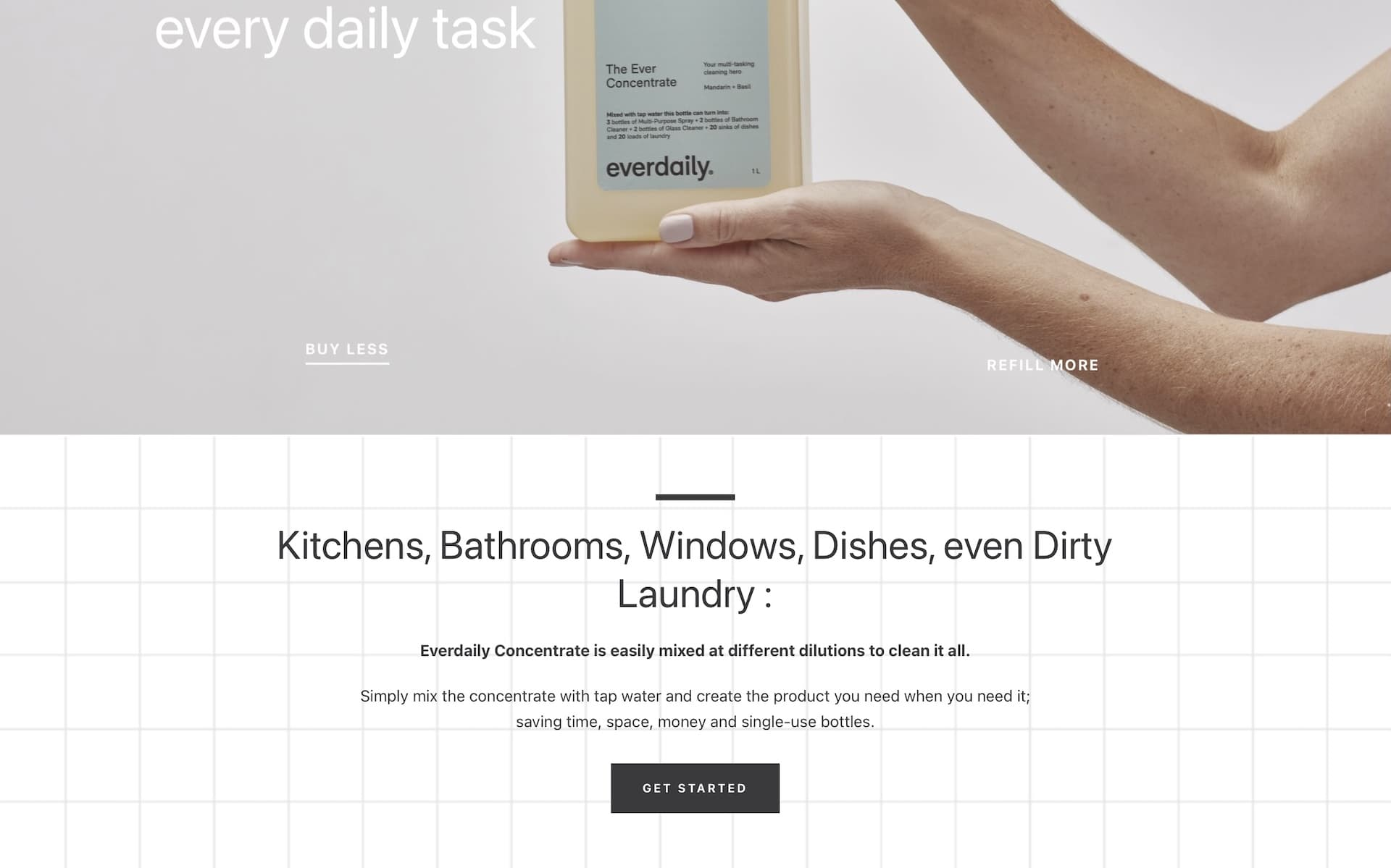 Everdaily Home Screen