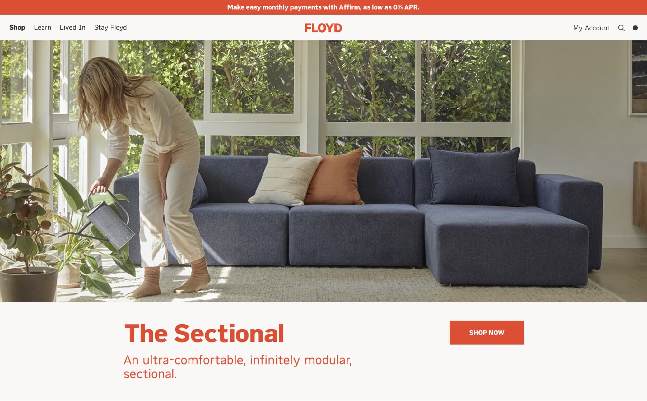 Floyd Home Screenshot Main