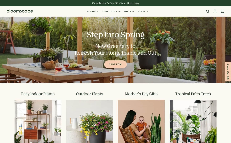 Bloomscape Screenshot Main