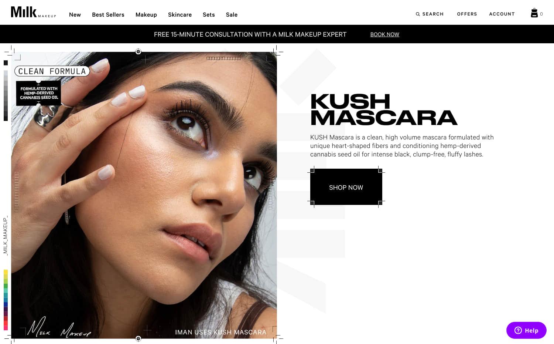 Milk Makeup Screenshot Main