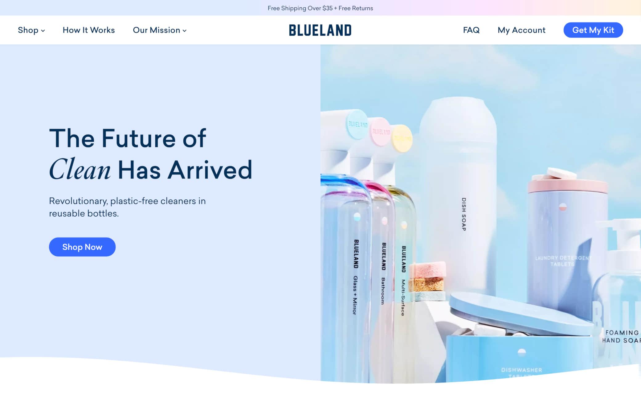 Blueland Screenshot Main