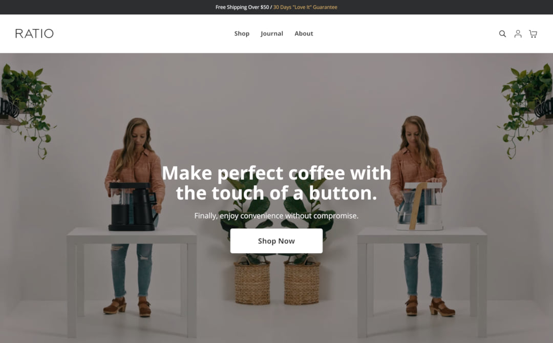 Ratio Coffee Screenshot Thumbnail